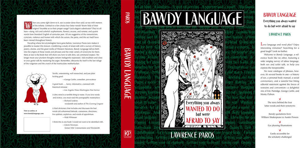 front of the Bawdy Language book