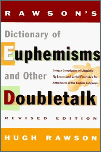 bawdy language books on amazon, Rawson Dictionary of Euphemisms and Other Doubletalk