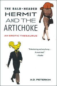 bawdy language books on amazon, The Bald Headed Hermit and the Artichoke by Allan D. Peterkin