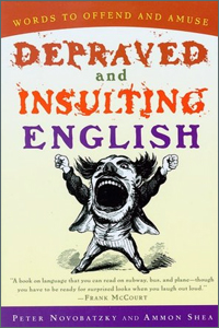 bawdy language books on amazon, Depraved and Insulting English