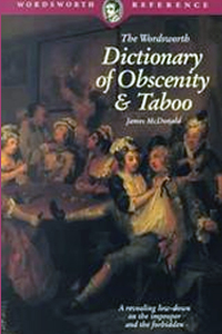 bawdy language books on amazon, Dictionary of Obscenity, Taboo and Euphemism