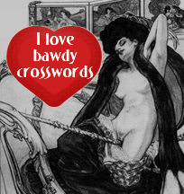 bawdy crosswords